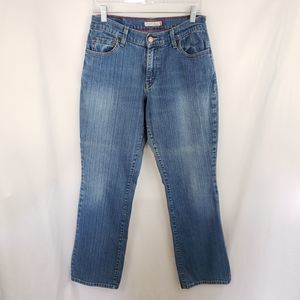 Levi's 550 Relaxed Boot Cut Jeans Size 8 medium